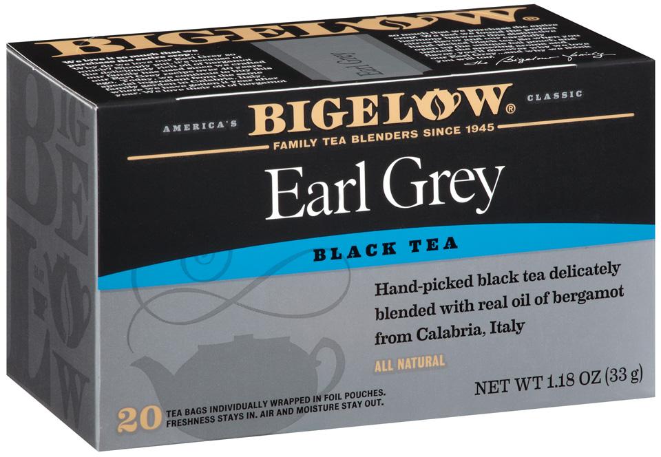 Пакетированый чай Бигелоу Эрл грей