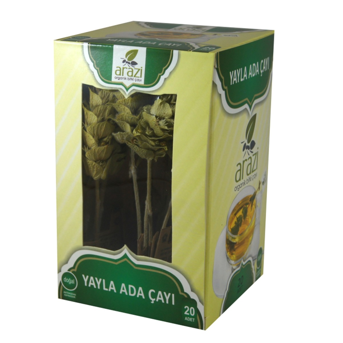 ада чай в коробке