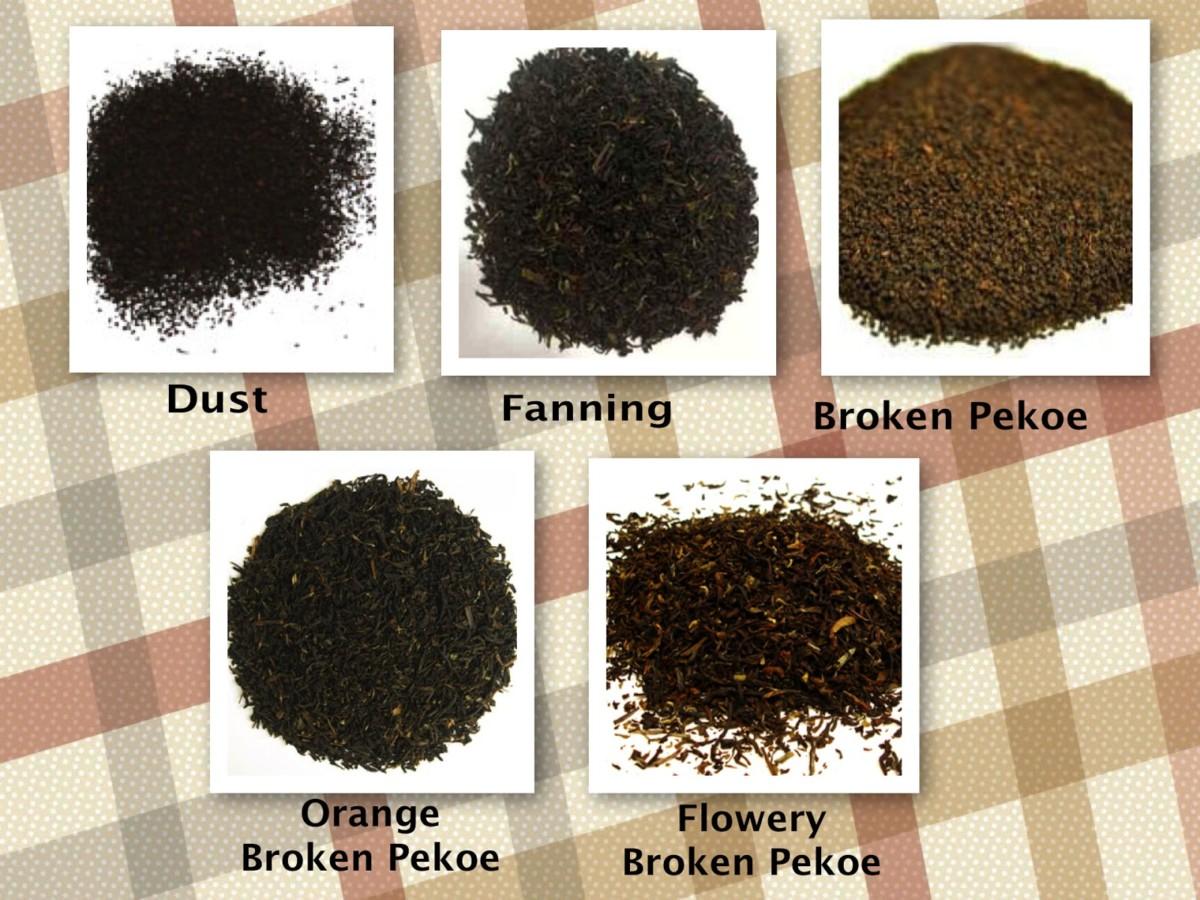 виды чая пекое