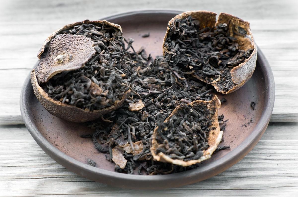 Земляной чай пуэр