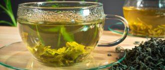 Зеленый чай благотворно влияет на весь организм в целом