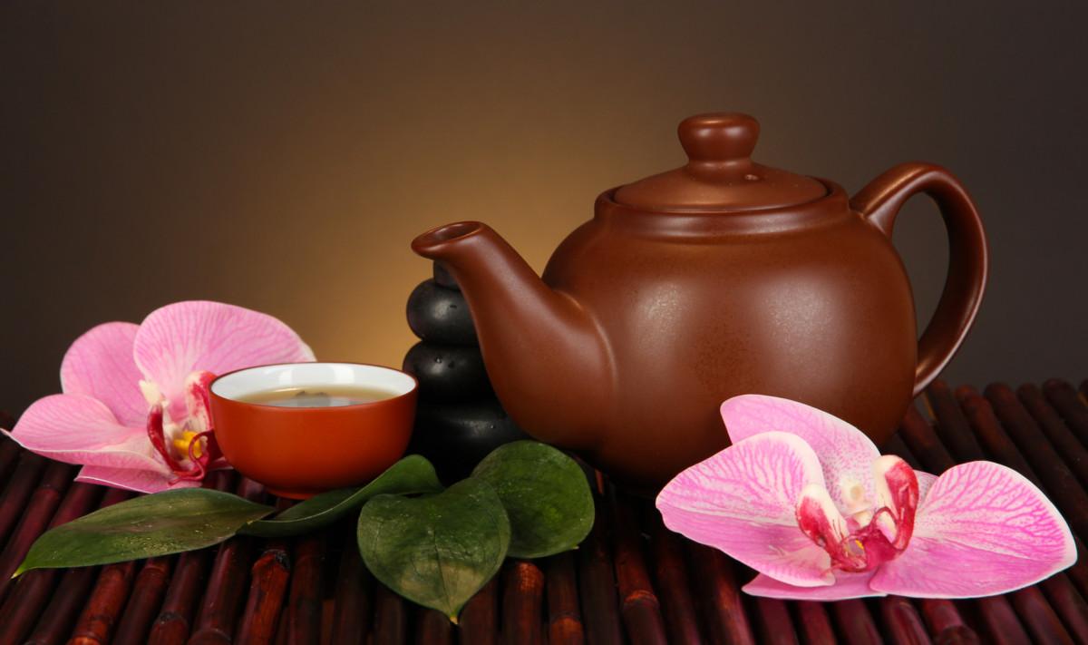 Приготовление к чаепитию