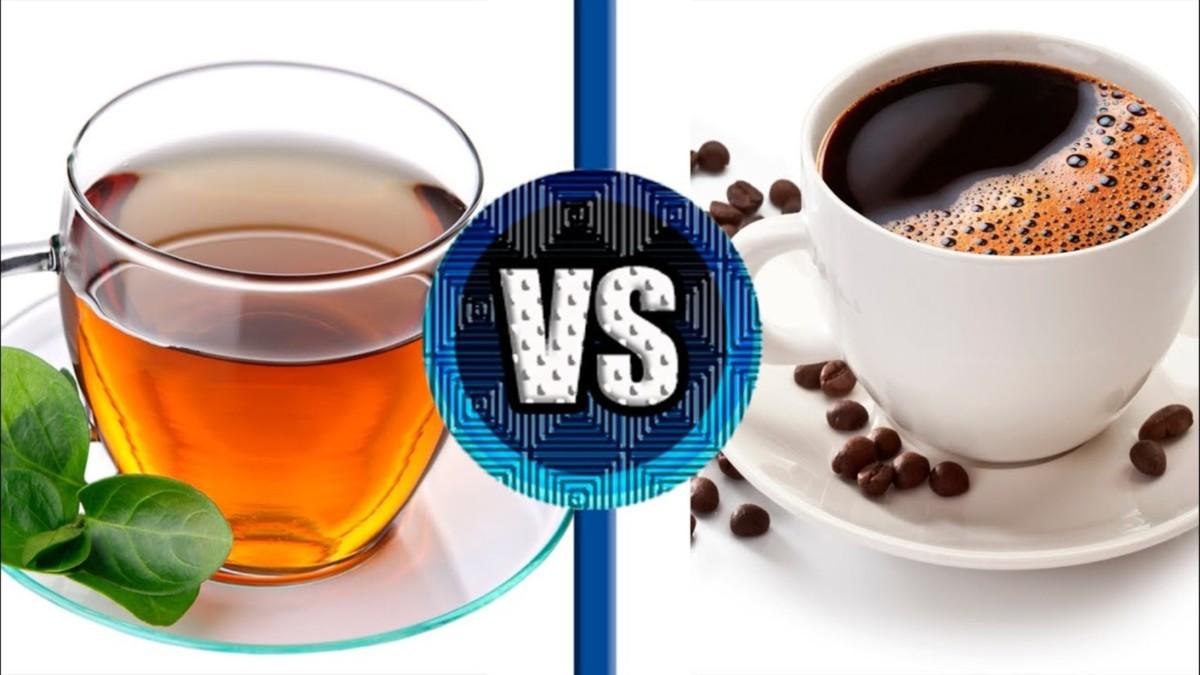 Что лучше чай или кофе