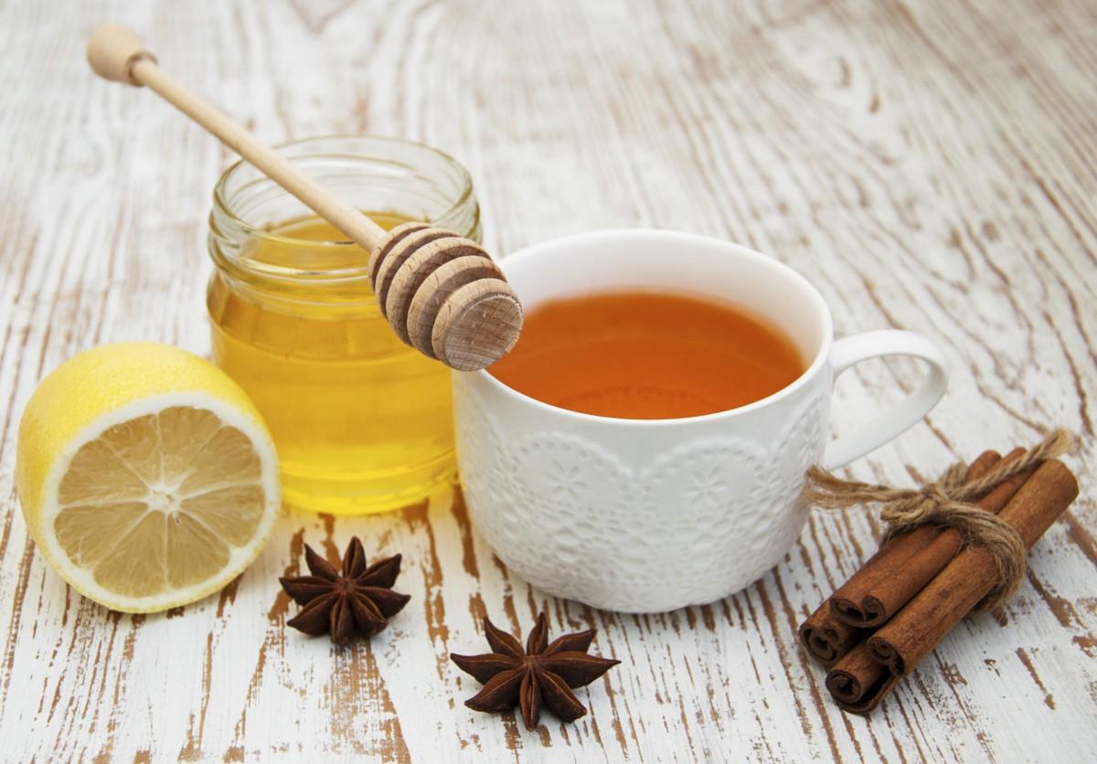 Чай с медом