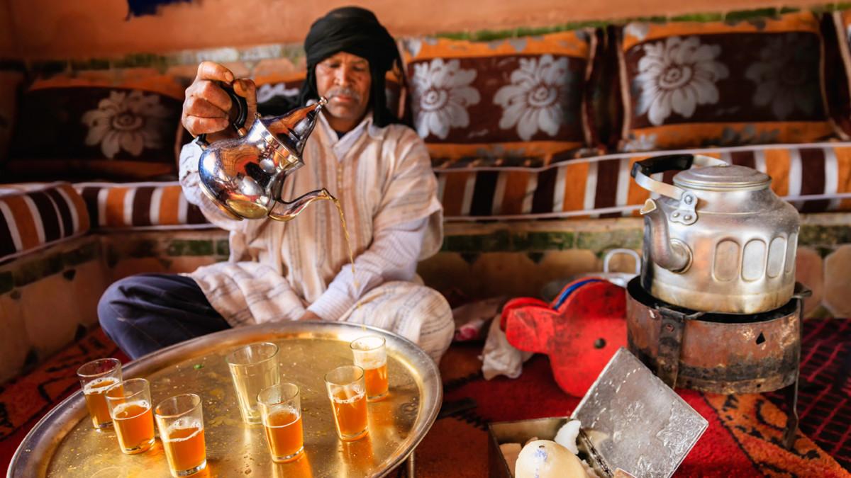 Чайная церемония по-мароккански