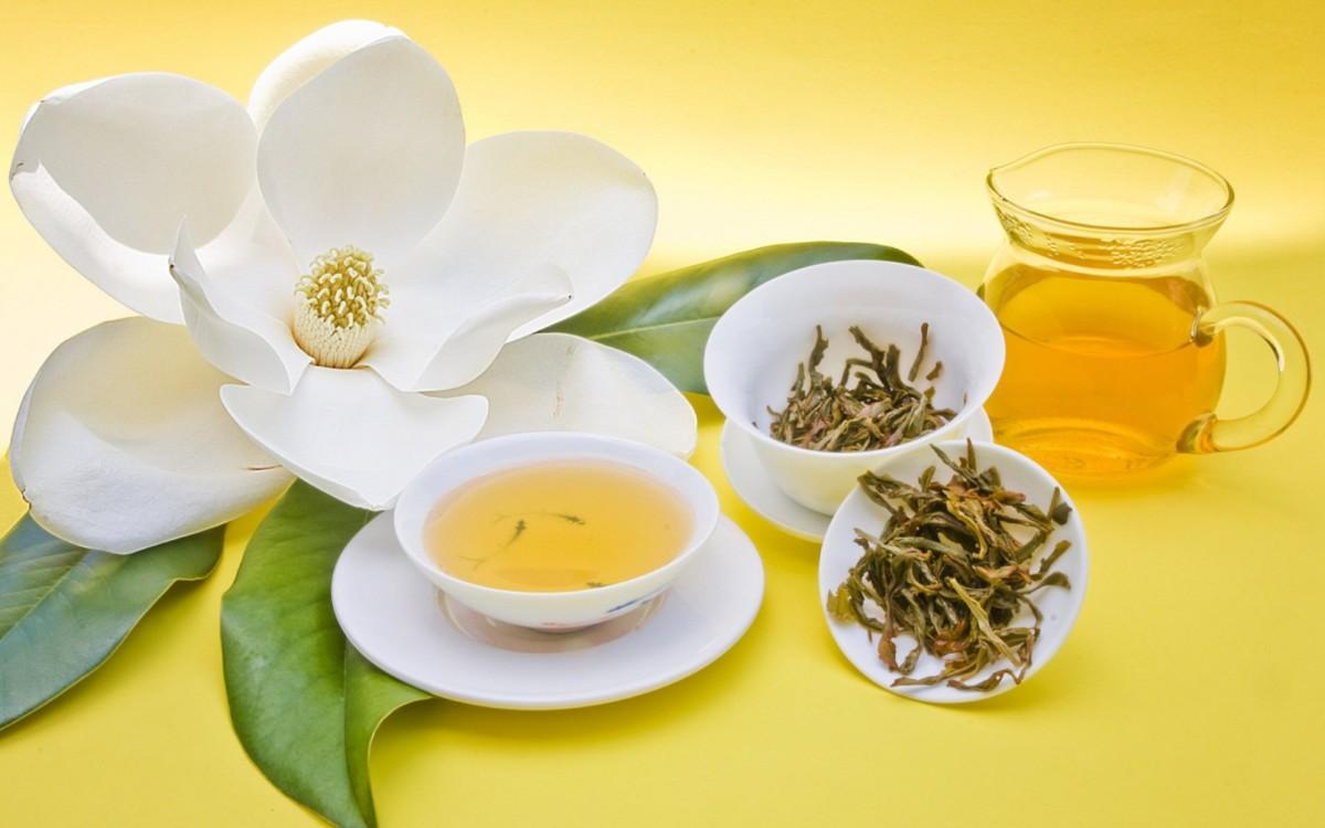 Польза желтого чая