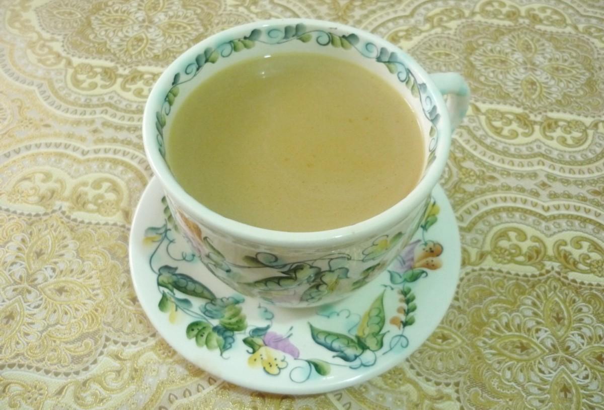 Чашка на блюдце