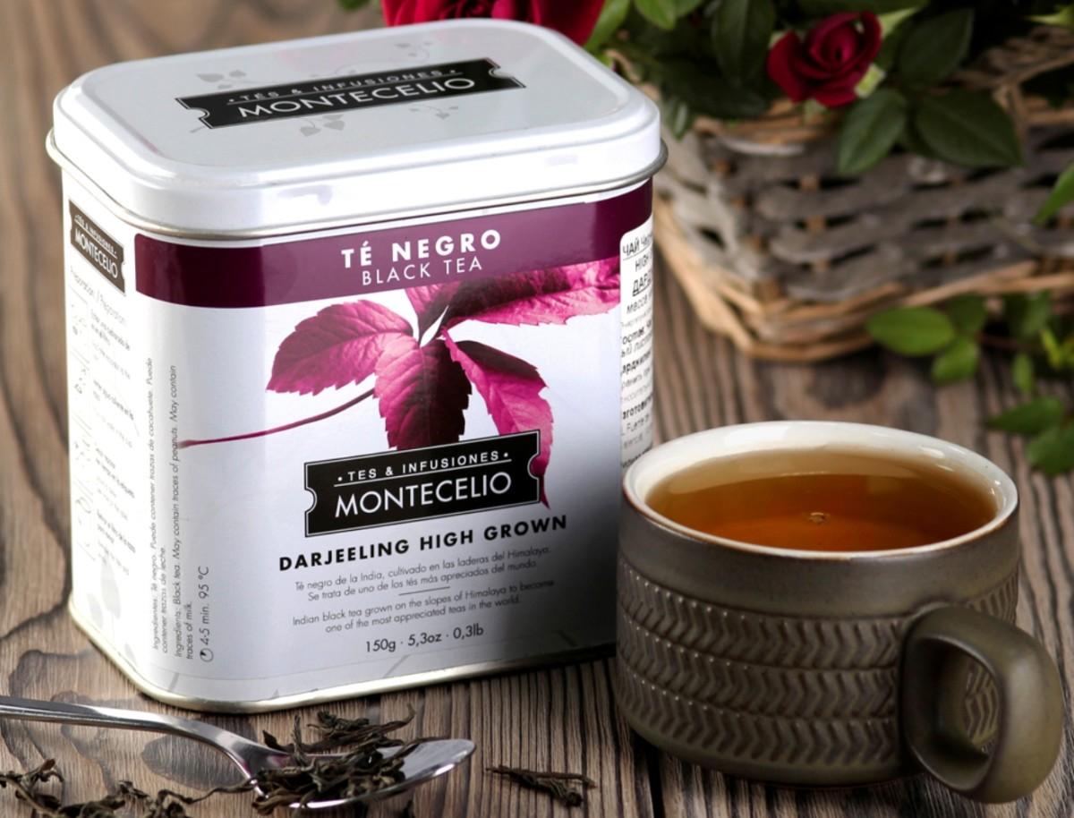 Чёрный чай Montecelio Дарджилинг