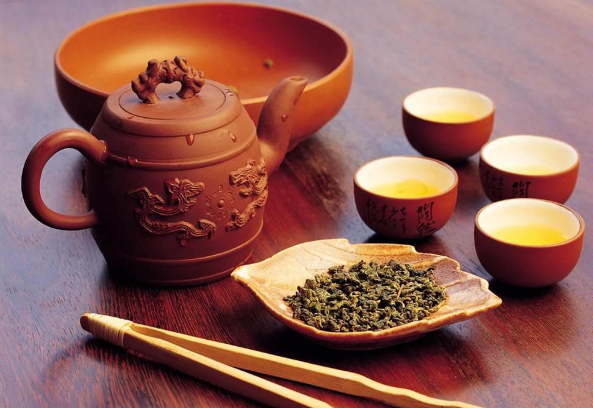 Улун – полуферментированный чай