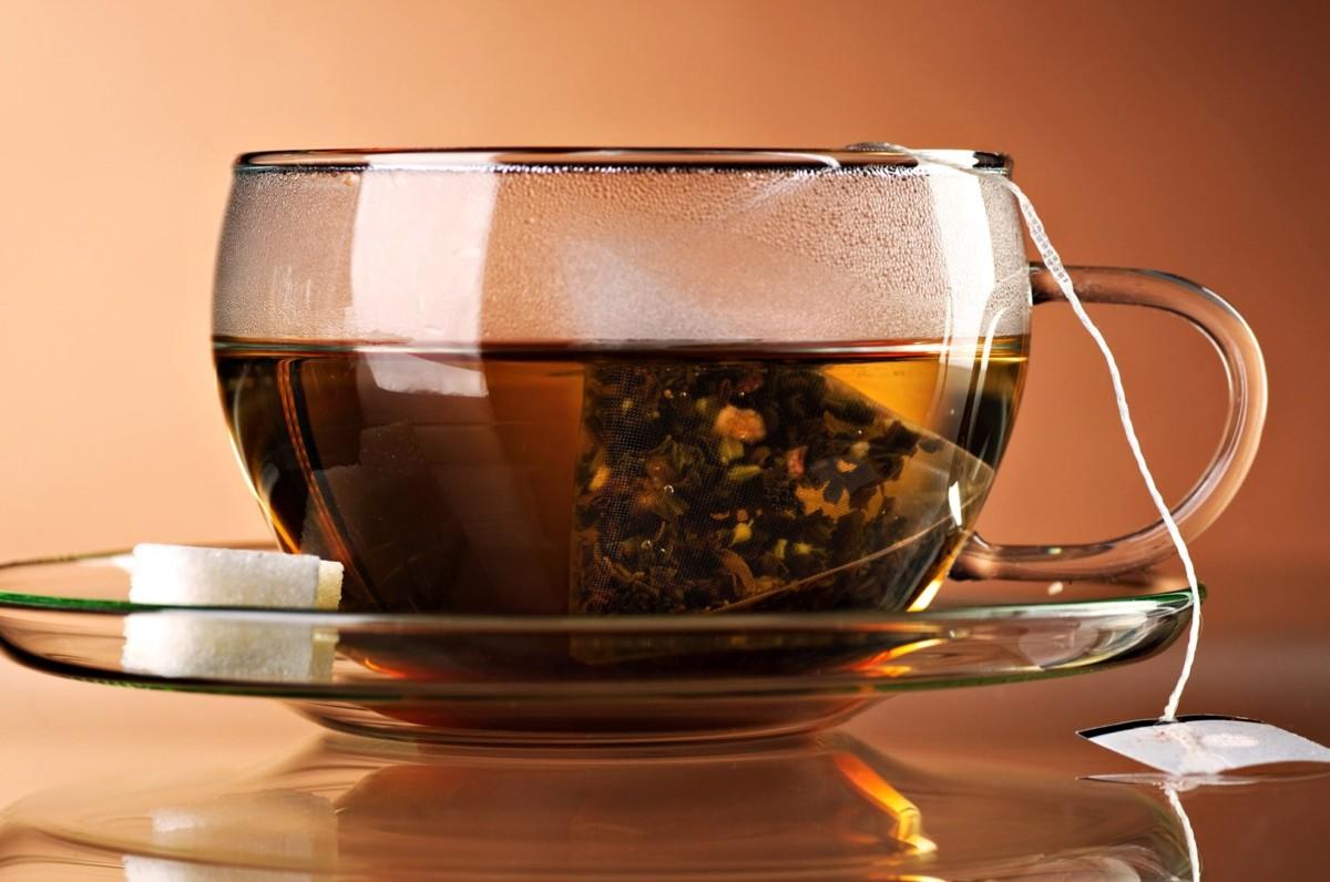 Чай с пирамидкой