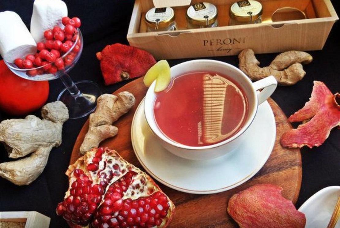 Чай с гранатом способствует эрекции у мужчин