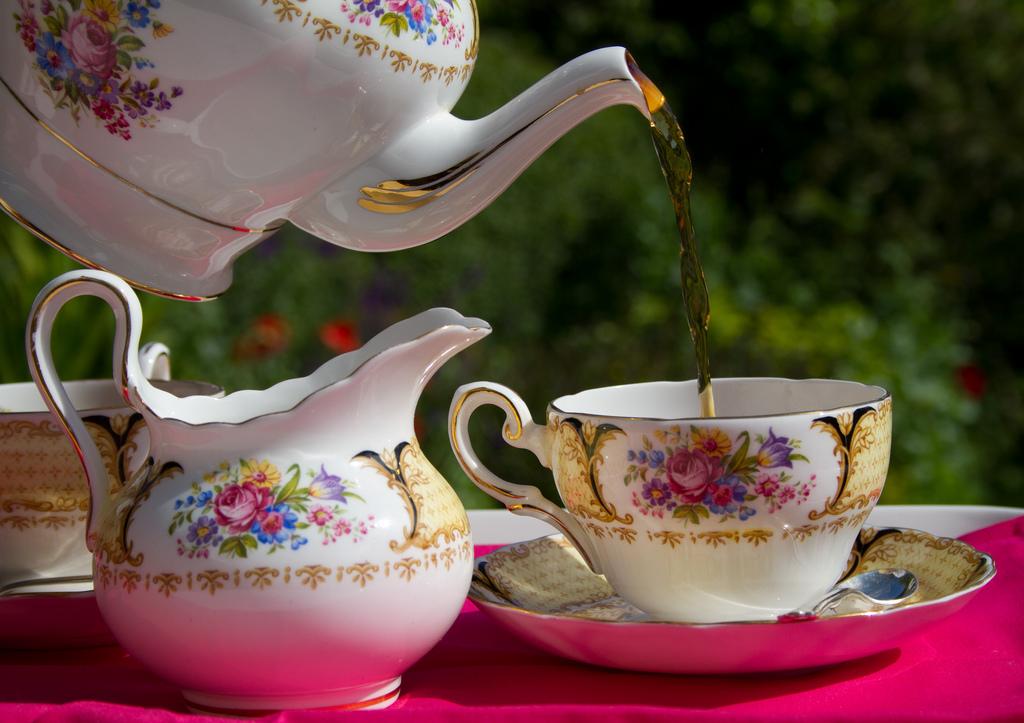 Для чайной церемонии в Англии есть специально отведенное время