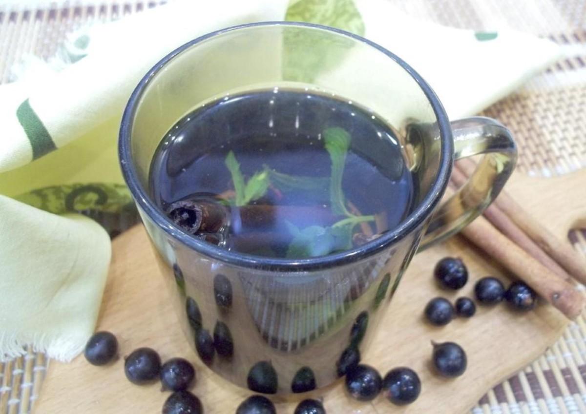 Готовый чай с мятой, черной смородиной и пряностями