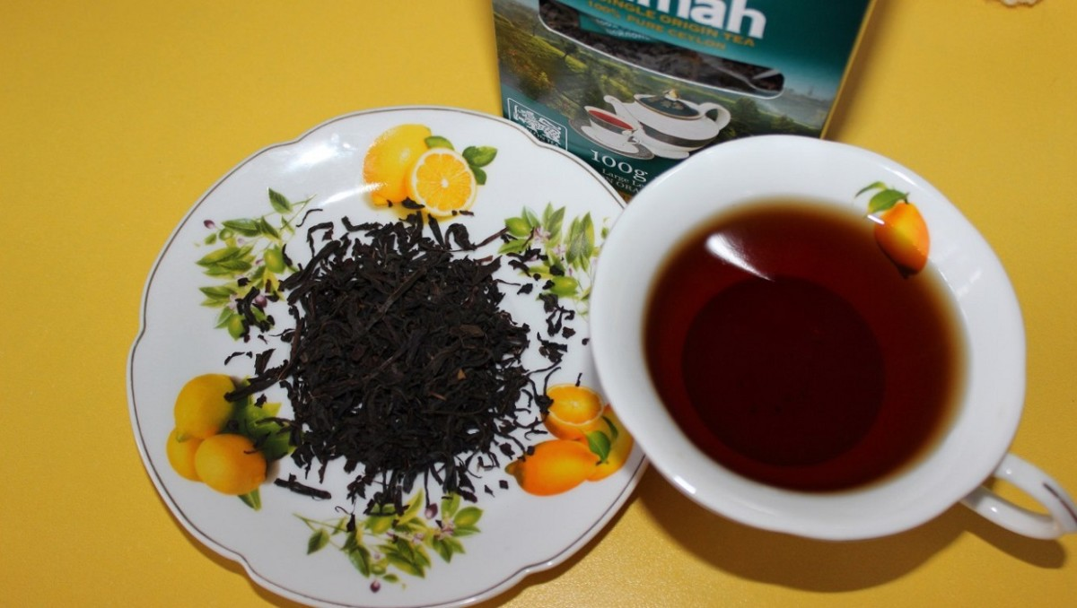 Чай можно заваривать не только в чайничке, но и прямо в чашке