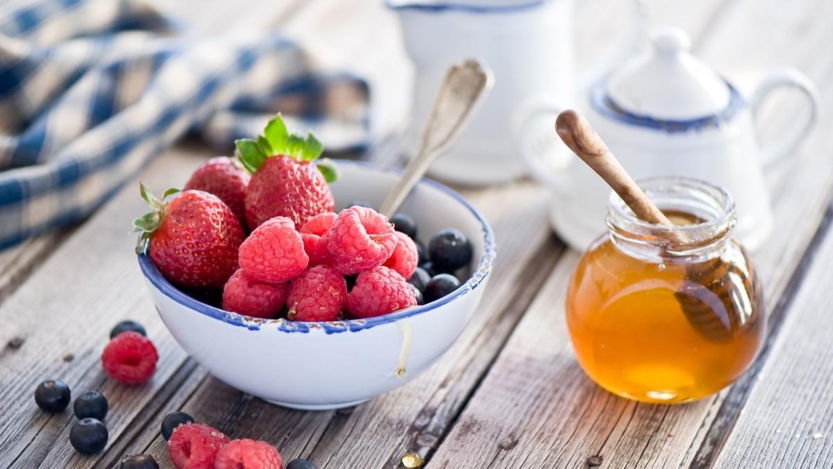 Чай с ягодами