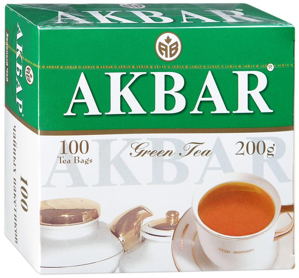 Зелёный чай от AKBAR имеет мягкий вкус, приятный аромат