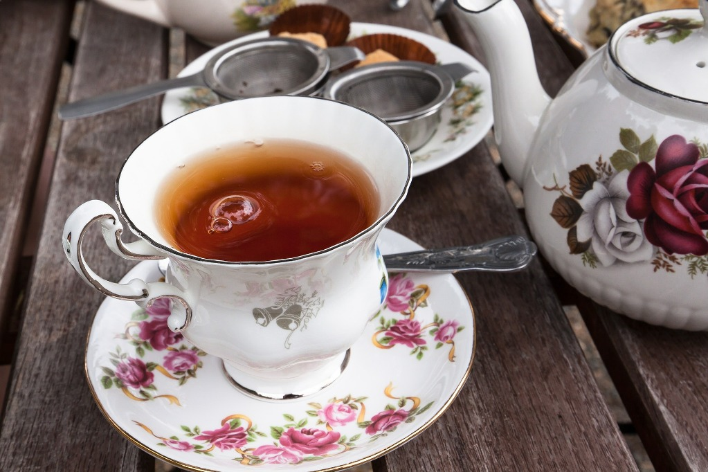 Чай с бергамотом можно пить в любое время суток