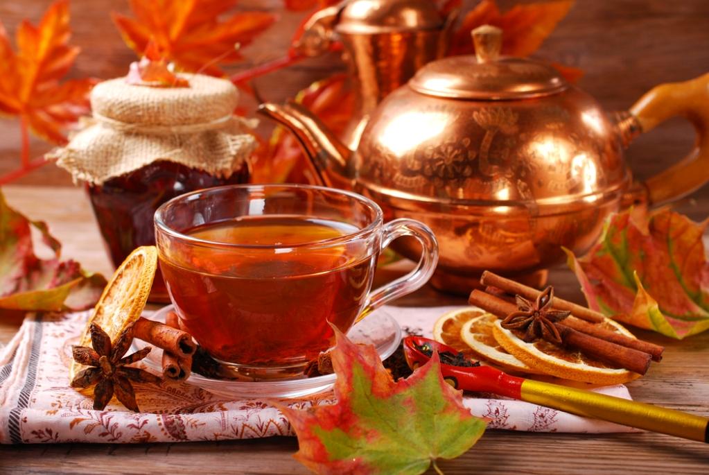 Чай поможет избавиться от простуды, снимет напряжение и усталость