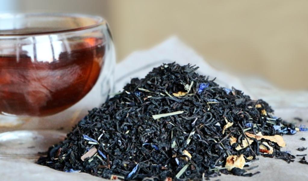 Чай с бергамотом бодрит и тонизирует