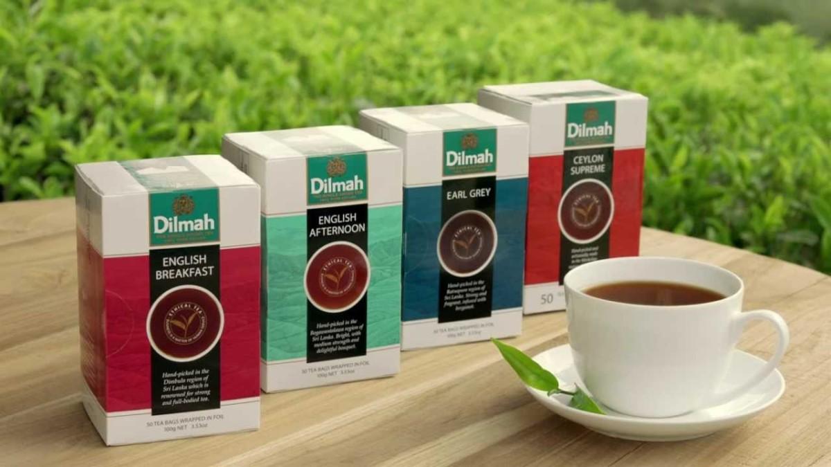 Чай марки Дилма