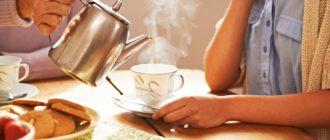 Можно ли пить чай до еды или после