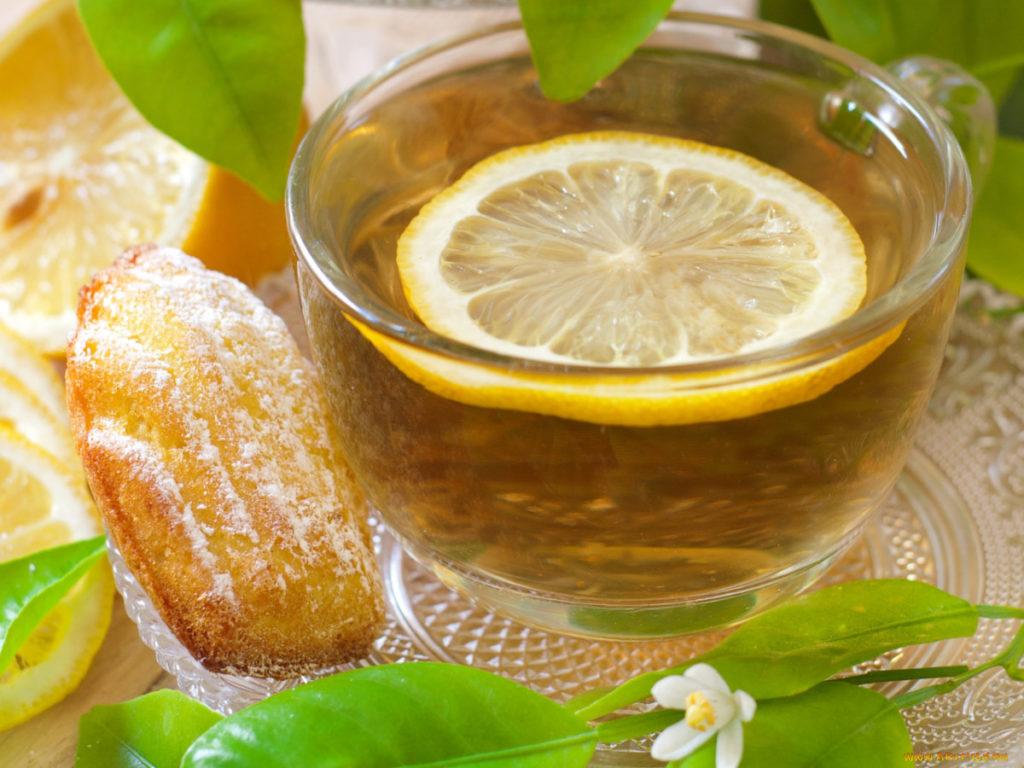 Картинки чая с лимоном