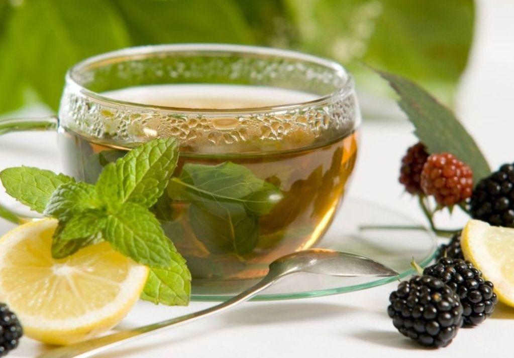 Чай с мелиссой и медом пьют теплым
