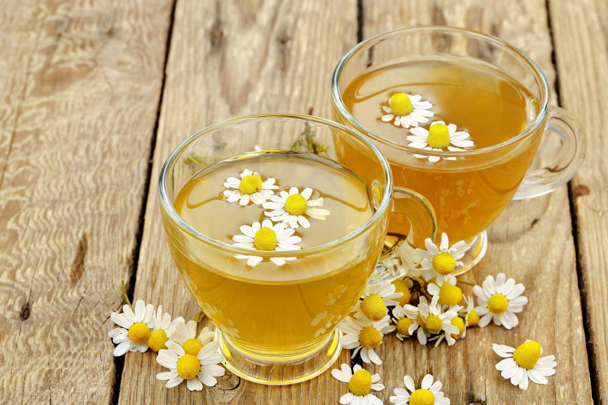 Ромашковый чай с фенхелем пьют на ночь