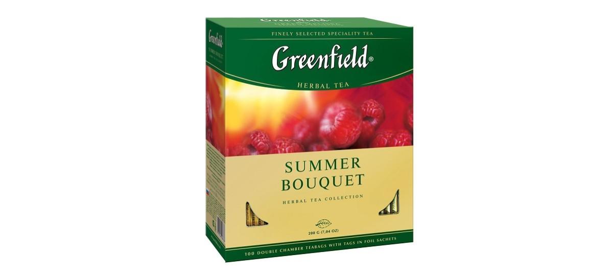 Травяные чаи Гринфилд можно приобрести в 2- х вариантах - пакетированные или россыпные