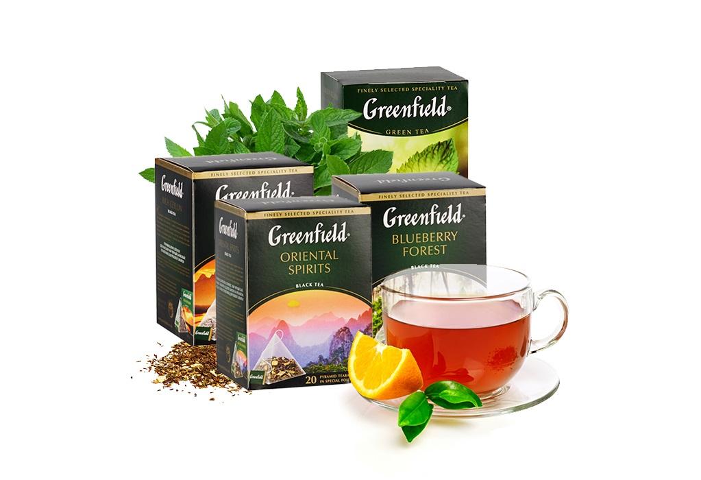 чай с ромашкой гринфилд польза