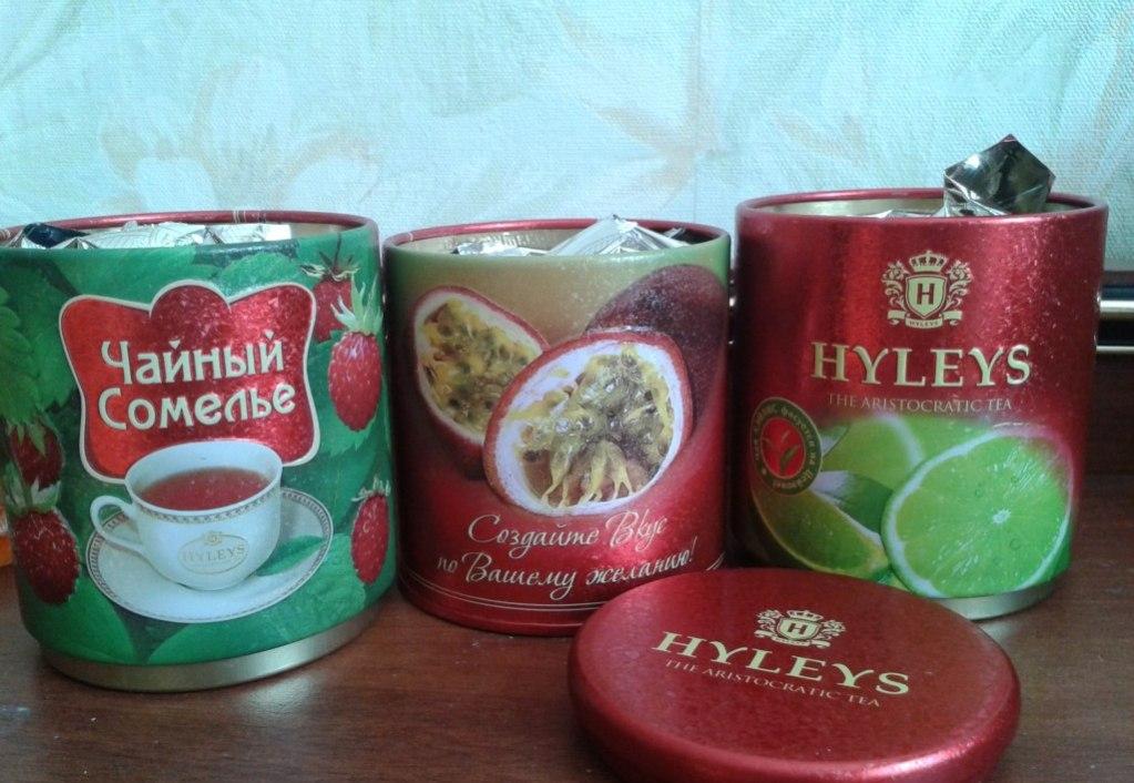 Коллекция до сих пор не имеет аналогов на чайном рынке