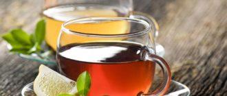 Сколько калорий в чае без сахара