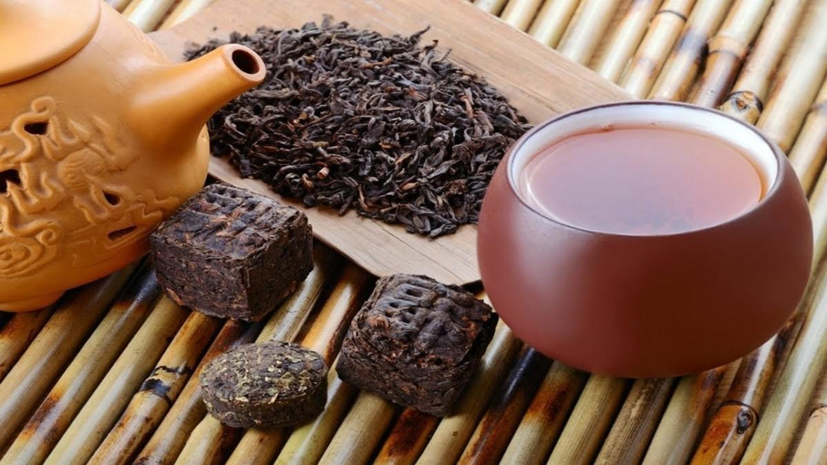 Прессуют в основном чай пуэр