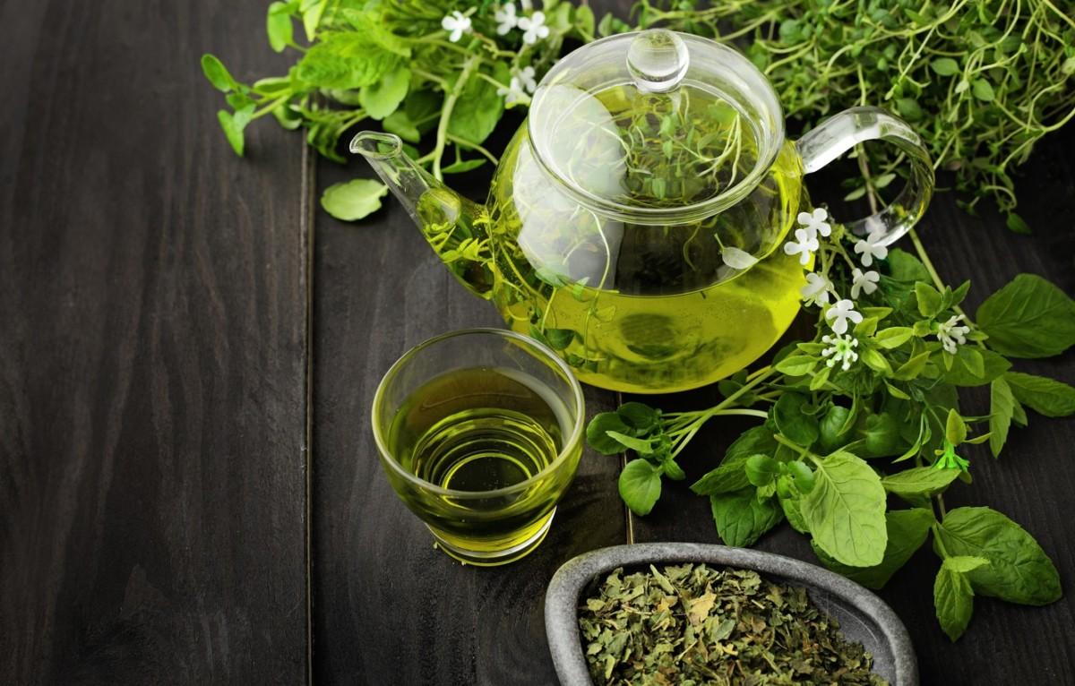 Зелёный чай с мелиссой - рецепт пошаговый с фото