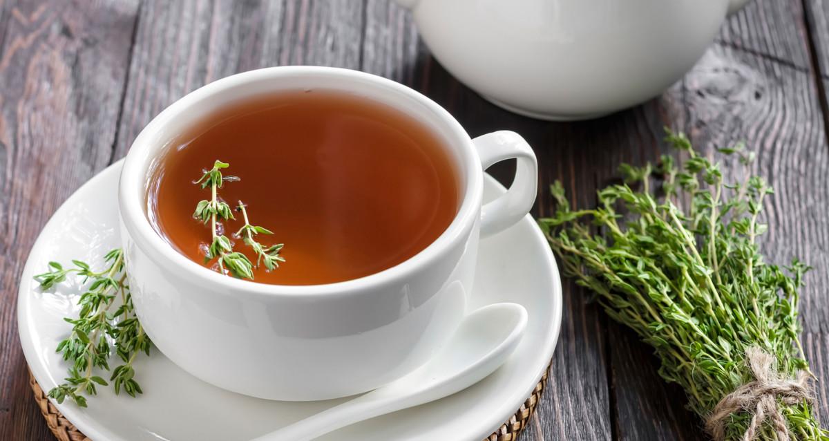 Чай с душицей пьют перед сном