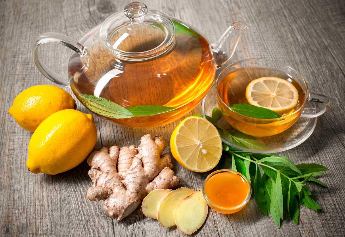 Чай из имбиря и лимона - неотъемлемая часть эффективной диеты