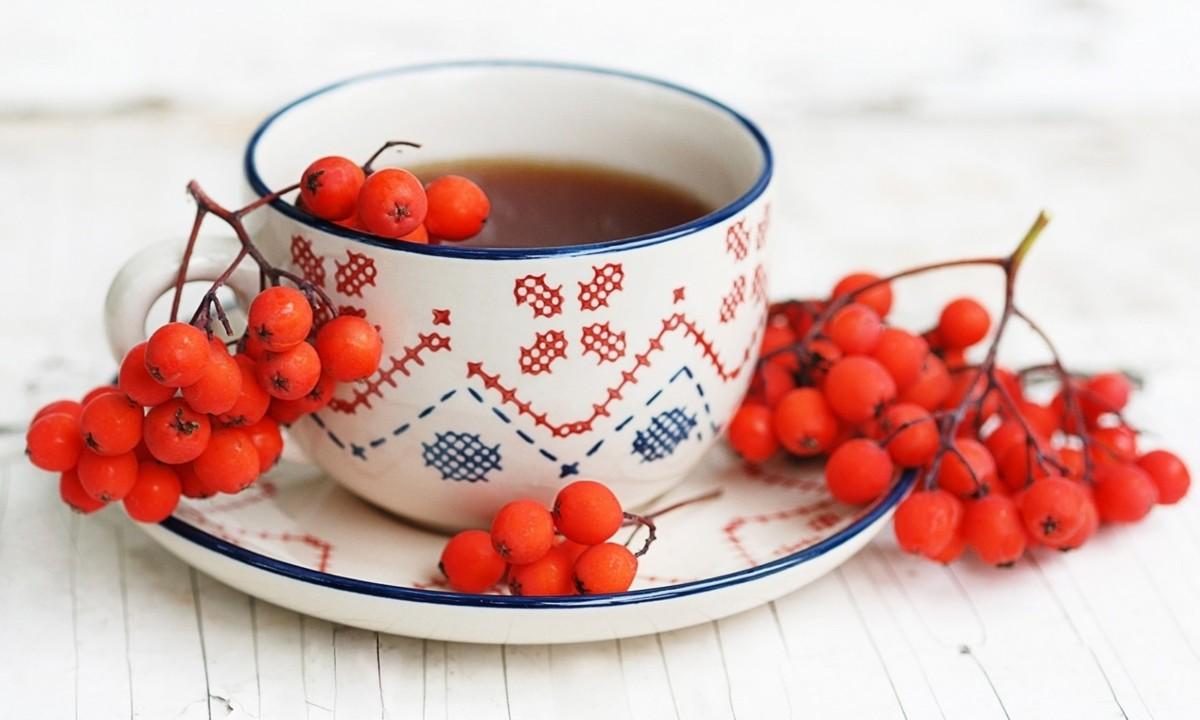 Чтобы организм лучше сопротивлялся болезням, в чай кладут шиповник и калину
