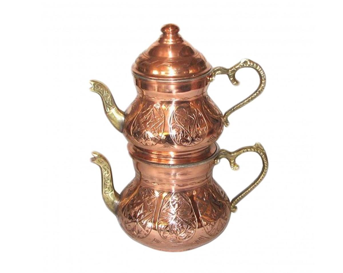 В Турции для заваривания чая используют двойной чайник