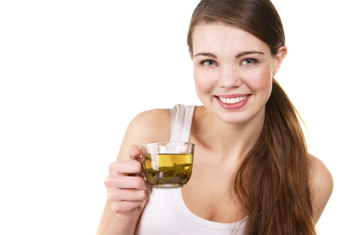 Зеленый чай придает бодрости